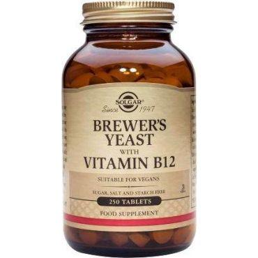 Levadura de cerveza con vitamina b12 solgar 250caps - Alimentos con levadura de cerveza ...