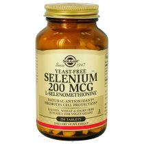 SELENIUM SOLGAR SELENIO SIN LEVADURA 200MCG 100COMP