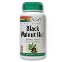 BLACK WALNUT HULL (NOGAL NEGRO) 100CAP. SOLARAY