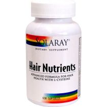 HAIR NUTRIENTS 120 CAPS SOLARAY