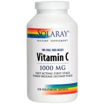 VIT C 1000 MG 100 CAPSULAS SOLARAY