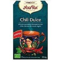 YOGI TEA CHILI DULCE CON CHILE, CASCARA DE CACAO, REGALIZ