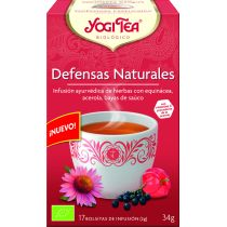 YOGI TEA DEFENSAS NATURALES 17 FILTROS CON VITAMINA C