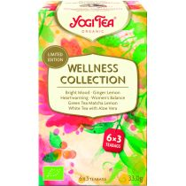 YOGI TEA WELLNESS COLLECTION EDICION LIMITADA 18 FILTROS