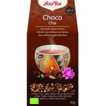 YOGI TEA CHOCO CHAI 90GR GRANEL SIN FILTRO