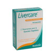 LIVERCARE NUTRIENTES PARA LA FNCION HEPATICA 60 CAPS DE LIBERACION PROLONGADA HEALTH AID