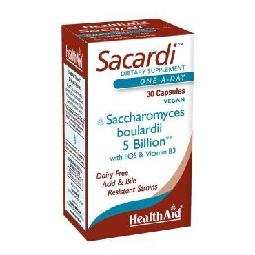 SACARDI 30 CAP  HEALTH AID