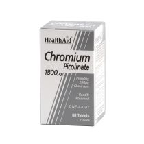 PICOLINATO DE CROMO 1800MC 60COMP HEALTH AID