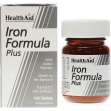 Strong iron formula hierro 100 comp health aid