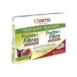 Frutas y fibras 12 cubitos concent ortis