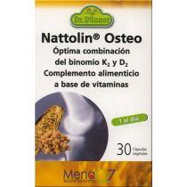 NATTOLIN OSTEO 30CAPS DR. DUNNER VITAMINAS K2 Y D3