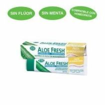 ALOE FRESH COMPATIBLE CON HOMEOPATIA PASTA BLANQUEADORA 100ML SABOR SALVIA-REGALIZ ESI