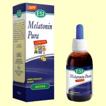 MELATONINA PURA JUNIOR SABOR CHOCOLATE BLANCO 40ML ESI