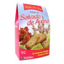 GALLETAS DE  SALVADO AVENA Y FRUTOS ROJOS 250GR
