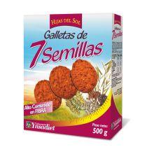 GALLETAS 7 SEMILLAS 500GR YNSADIET