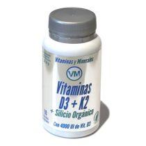 VITAMINAS D3 + K2 + SILICIO ORGANICO YNSADIET