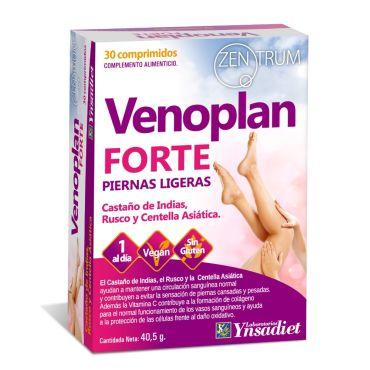 ZENTRUM VENOPLAN FORTE PIERNA LIGERAS 30 COMPRIMIDOS YNSADIET