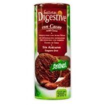 GALLETAS DIGESTIVE Cacao 190 Santiveri