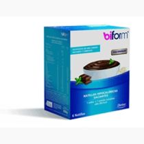 NATILLAS SABOR CHOCOLATE BIFORM 6UDS DIETISA