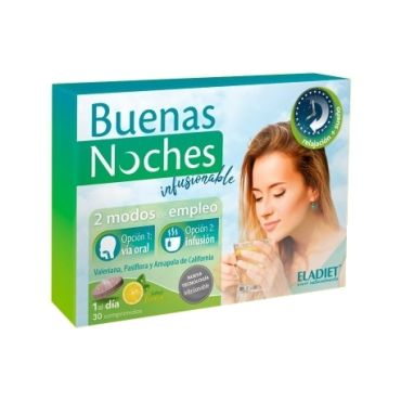 BUENAS NOCHES INFUSIONABLE 30 COMP ELADIET