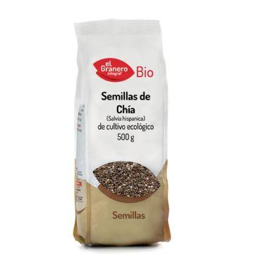 SEMILLAS DE CHIA BIO 500GR EL GRANERO