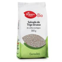 SALVADO BIO DE TRIGO INTEGRAL GRUESO 300GR GRANERO