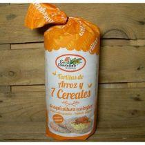 TORTITAS de ARROZ Y 7 CEREALES Granero