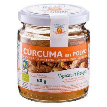 CURCUMA ecológica  EN POLVO VEGETALIA 80GR