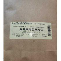 HOJAS DE ARANDANO (VACCINIUM MYRTILLUS) BOLSA DE KILO LA FLOR DEL PIRINEO