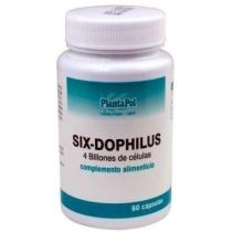 SIX-DOPHILUS FORTE 60CAPS, PLANTAPOL (FOS,LACTOCOCUS,LACTOBACILUS, ETC..)