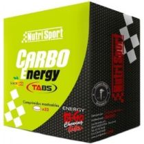 CARBO ENERGY TABS 32TABLETAS SABOR LIMON NUTRISPORT