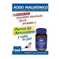 ACIDO HIALURONICO MSM COLAGENO Y VIT C 60CAPS GSN