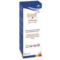 HERBETON DEFENSAS Y ENERGIA JARABE 250ML BIOSERUM