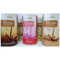 BATIDO SACIANTE SABOR CHOCOLATE CON EDULCORANTES 700GR SOTYA