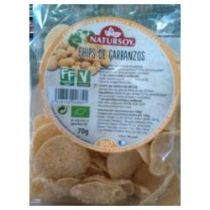 CHIPS DE GARBANZO 70GR NATURSOY