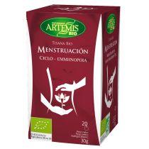 INFUSION MENSTRUACION TISANA BIO ARTEMIS 20FILTROS