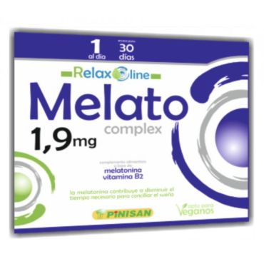 MELATO COMPLEX  30 CAPS RELAX LINE DE PINISAN