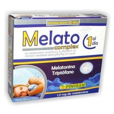 MELATO COMPLEX 30 CAPS MELATONINA 1,9MG Y TRIPTOGANO 50MG