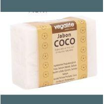 JABON DE COCO 100GR NUTRITIVO ELABORADO EN FRIO CON PRODUCTOS NATURALES VEGALIFE