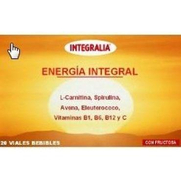 ENERGIA INTEGRAL L-CARNITINA, SPIRULINA, AVENA, ELEUTEROCOCO, VIR. B1, B6, B12, Y C 20 V