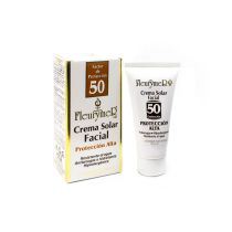 CREMA SOLAR FACIAL spf 50 FLEURYMER 80ml antiarrugas, hipoalergenica