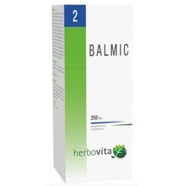 BALMIC 250 ML HERBOVITA PRODUCTO ALIMENTIOCIO A BASE DE PLANTAS Y ZINC