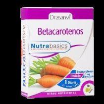 BETACAROTENOS 2MG 30CAPS DRASANVI