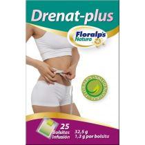DRENAT PLUS 25 FILTROS PARA INFUSION FLORAPS