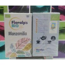 MANZANILLA ECOLOGICA 25FILTROS FLORALP S