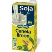 BEBIDA DE SOJA CON CANELA Y LIMON 1L NATUGREEN