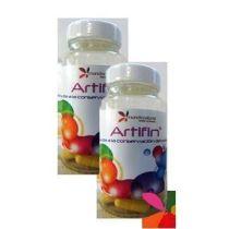 ARTIFIN 60caps MUNDO NATURAL glucosamida, curcuma para los huesos